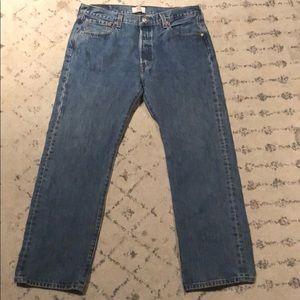 Levi's 501 straight leg 36/30